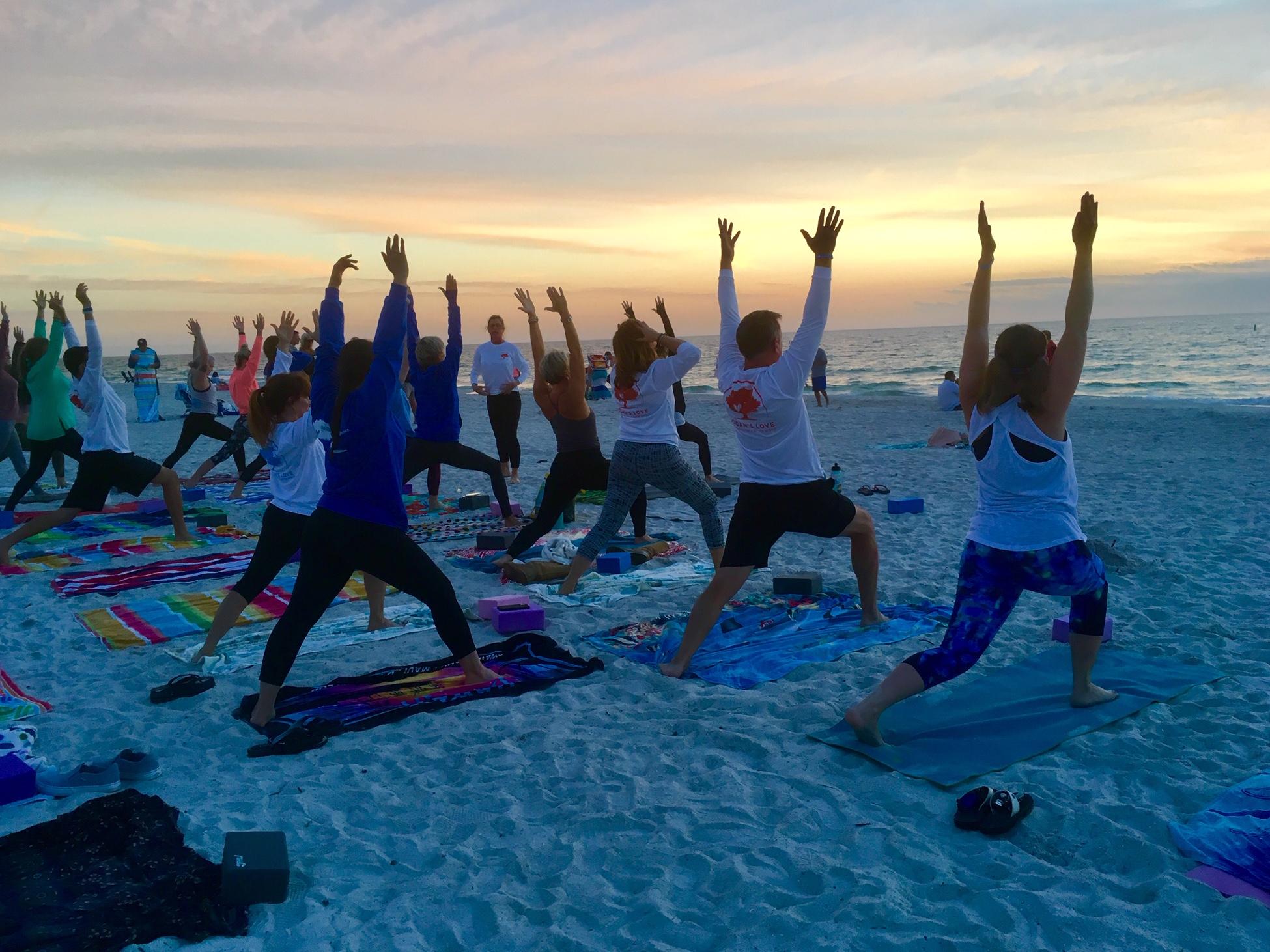 2019 Sunset Beach Yoga